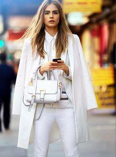 Cara Delevingne DKNY S/S 2013