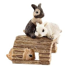 Schleich Playing Baby Rabbits Toy Figure * Learn more by visiting the image link.Note:It is affiliate link to Amazon.