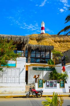 Sirena Cafe & Bar, Mancora, Peru  'This internationally famous surf spot has something for everyone – There's surfing, horse riding, hot springs and beach combing to fill the days, while street parties and beachside bonfires light up the nights