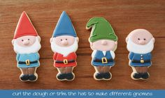 A Gnome for all Seasons - Klickitat Street Cookie Cutters | Klickitat Street