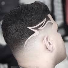 Resultado de imagen para corte de cabello con diseño de estrellas