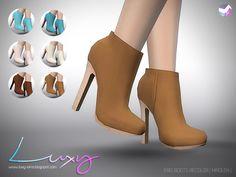 LuxySims : Eris Boots [RECOLOR]