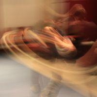 moving, dancing...