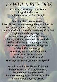 Credo Javanese