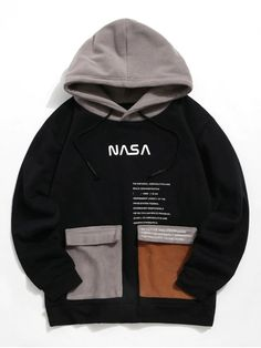 Hoodies and Sweatshirts For Men Online Retro Outfits, Cool Outfits, Funny Hoodies, Sweatshirts, Stylish Hoodies, Boys Clothes Style, Vetement Fashion, Swagg, Black Hoodie