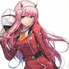 Darling in the franxx-zero two art ,so cute Anime Ai, Manga Anime, Sad Anime, Anime Demon, Kawaii Anime, Anime Girl Hot, Manga Girl, Anime Girls, Photo Manga