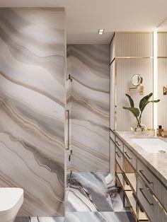 Home Interior Modern 3 . on Behance.Home Interior Modern 3 . on Behance Diy Bathroom Decor, Bedroom Decor, Wall Decor, Boho Bathroom, Tv Decor, Budget Bathroom, Bathroom Layout, Bathroom Cleaning, Bathroom Storage