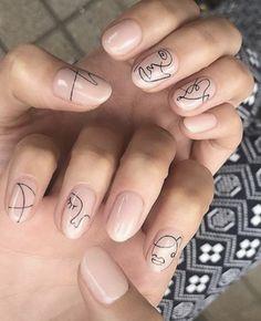 Fashion Gal, Gray, Nails, Beauty, Finger Nails, Ongles, Grey, Beauty Illustration, Nail