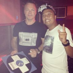 me & mr.pete tong