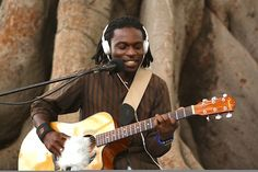 """""""Lamuka"""" Click the pic to enjoy Episode 83 from Playing for Change. Congolese musician Christian Bakalanga left his native country a few years ago in search of new opportunities and is now living in Cape Town. """"Lamuka"""", which means 'wake up' in Lingala, is a beautiful song Christian wrote to encourage people to actively pursue and achieve their dreams."""