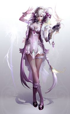 Character design and concept development - aion 9 by pencil1203