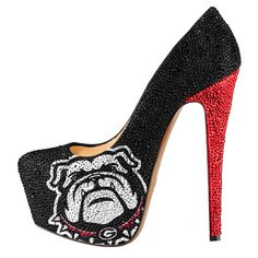 Image from http://cdn.shopify.com/s/files/1/0130/0902/products/Georgia_Bull_Dogs_High_Heels_crystal_pumps_high_res_1024x1024.jpg?v=1407377305.