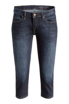 EDC / Stretchige Capri-Jeans