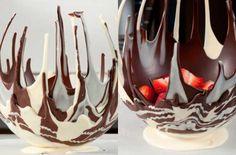 How to make a chocolate bowl