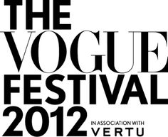 All you lucky people off to the Vogue Festival @BritishVogue