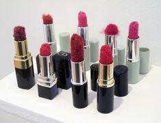 knit lipstick by janet morton