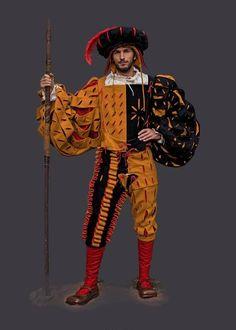 Renaissance Costume, Renaissance Clothing, Renaissance Fair, Warhammer Empire, Warhammer Fantasy, Historical Costume, Historical Clothing, Fantasy Costumes, Cosplay Costumes