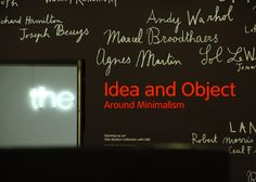 Tate Modern London, Musée d'Art Moderne de Londres, Level 5 : Idean and Object - Londres, Royaume-Uni (UK)