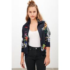 low priced 73c34 77855 adidas Originals Floral Firebird Track Jacket ( 75) ❤ liked on Polyvore  featuring activewear, activewear jackets, multi, tracksuit jacket, adidas,  ...