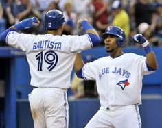 74886ef73be Jose Bautista and Edwin Encarnacion Go Blue