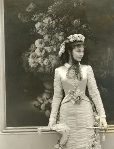 "Vivien Leigh as Anna Karenina, costumes by Cecil Beaton. Amazingly talented designer who was a photographer and set designer. He is best remembered for his designs for the movie, ""My Fair Lady"""