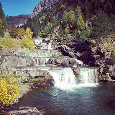ARAGON SPAIN - Gradas de Soaso en el Parque Nacional de Ordesa y Monte Perdido