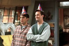 Joey & Chandler