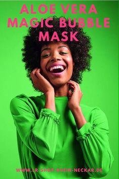 Aloe Vera, Detox Maske, Anti Aging, Fashion Beauty, Bubbles, Schaum, Shopping, Wellness, Blouses