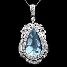 Look what I got - Diamond Heart Pendant Gold ; Aquamarine Jewelry, Pearl Jewelry, Gemstone Jewelry, Antique Jewelry, Gold Jewelry, Vintage Jewelry, Fine Jewelry, Jewlery, Jewelry Necklaces