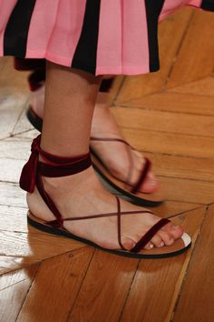 d73355557e Valentino Spring 2017 Ready-to-Wear Fashion Show Details #Valentino Summer  2017 Shoe