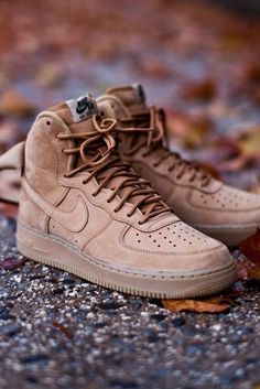Nike Air Force 1 High LV8 Wheat #sneakersnike