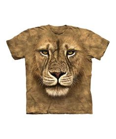 Take a look at this Tan Lion Warrior Tee - Toddler & Kids by The Mountain on @zulily today!
