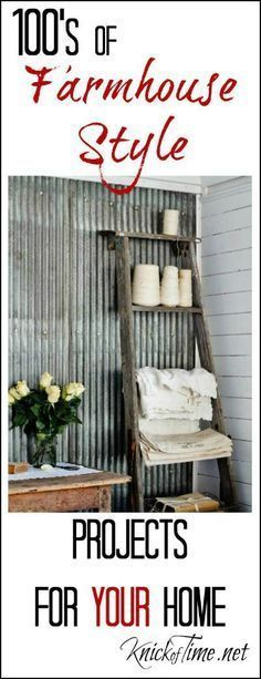Farmhouse Decor and DIY Projects Farmhouse Friday at http://KnickofTime.net