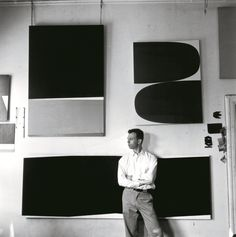 Ellsworth Kelly, Broad Street studio, New York, 1956. Photo courtesy Phaidon.