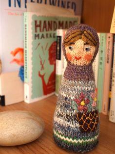 wonderful knitted matryoshka