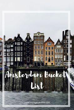 I had the time of my life in Amsterdam. It truly is an amazing city and for any of you that are planning to visit it - I've compiled a bucket list that is completely doable in 2-3 days and is super fun. I will touch on a few of the points and then you can download the bucket list at the end of the post for the rest! 1. Rent a Bike Amsterdam is famously known as being the 'biking capital of the world' and for good reason! I've never seen so many bikes in all of my life. There is even...