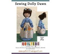 Sewing Dolly Dawn pattern www.quilterstradingpost.com