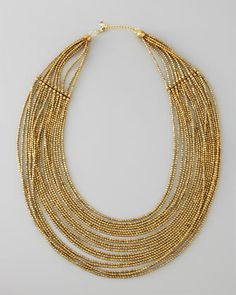 CUSP Layered Beaded Necklace