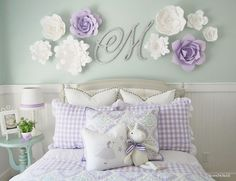 Wall Decor Ideas for Girls' Rooms