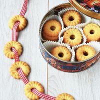 Vaniljekranse ✮ Danish Butter Cookies - Wallflower Girl
