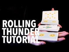 Cardistry for Beginners: Two-handed Cuts - Rolling Thunder Tutorial - YouTube