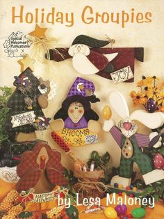 Holiday Groupies Decorative Tole Painting Craft Book