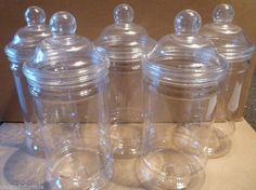 5 jars