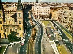 Március 15. tér, Budapest, 1964 és 1972 között forrás: Vissza a múltba
