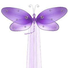 Purple DRAGONFLY CURTAIN TIEBACK - Taylor Dragonfly - curtain ties, tie back, decorative dragonflies