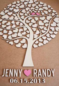 Benutzerdefinierte Hochzeit Gast Buch von TotallySalinda auf Etsy
