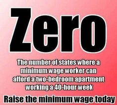 In how many states can someone working a full-time, minimum wage job afford a 2 bedroom apartment?