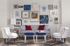 Whimsical Rowe Furniture. #wsnc #bowenfurniture