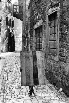 Trogir, Croatia, Yugoslavia. Henri Cartier-Bresson 1965.