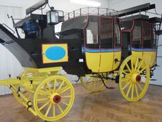 The biggest stagecoach from XVIII century in Europe.